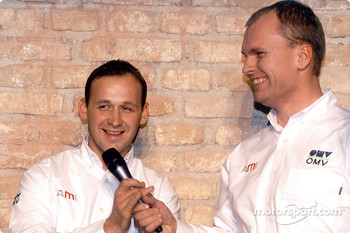 Manfred Stohl and Jani Paasonen