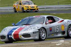 Demo run by a Ferrari 360 Modena