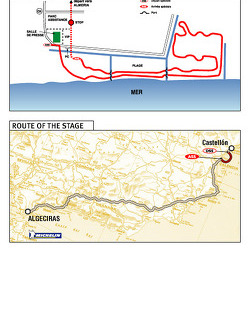Stage 3: 2004-01-03, Castellon to Tanger