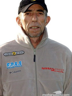 Nissan Dessoude team presentation: Bernard Irissou