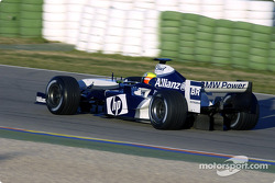 Ralf Schumacher tests the new WilliamsF1 BMW FW26