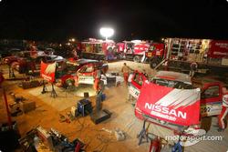 Nissan Motorsports service area