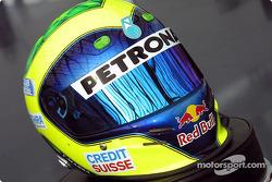 Felipe Massa's helmet