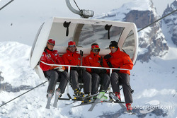 Michael Schumacher and friends