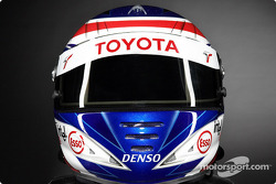 Olivier Panis's helmet