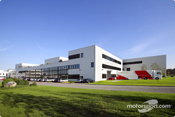The Toyota Motorsport factory: loading the truck for the next race.
