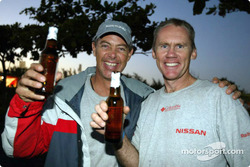 Relaxing moments at Nissan Motorsports