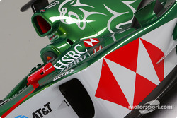 Detail of the new Jaguar R5