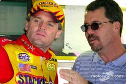 Kenny Wallace and 1991 Daytona 500 champion Ernie Irvan