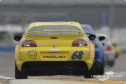 #68 SpeedSource Mazda RX-8: Scott Schlesinger, David Tuaty