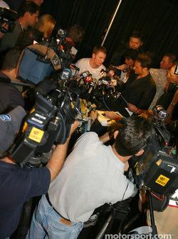 A lot of media attention for Dale Earnhardt Jr.
