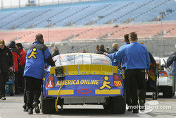 AOL Chevrolet crew head to qualifying line-up