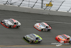 Elliott Sadler, Brian Vickers, Scott Riggs and Ricky Craven