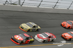 Jamie McMurray, Dale Earnhardt Jr. and Ken Schrader