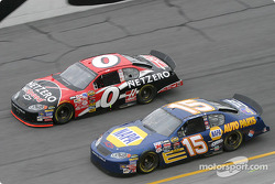 Ward Burton and Michael Waltrip
