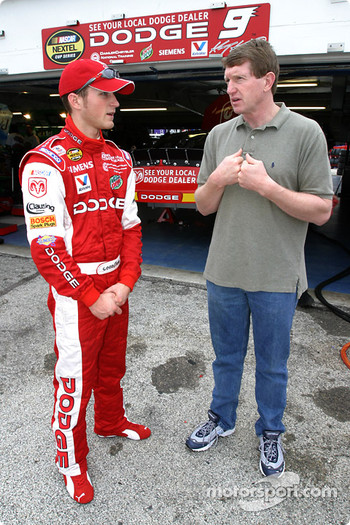 Kasey Kahne and Bill Elliott