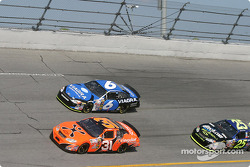 Robby Gordon, Mark Martin and Brian Vickers