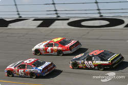 Kyle Petty, Kevin Lepage and Johnny Benson