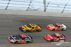 Kevin Harvick, Matt Kenseth, Ricky Rudd and Ricky Craven