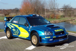 The new Subaru Impreza WRC2004