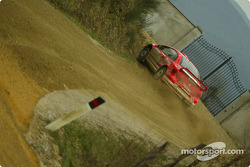 Peugeot 307WRC test in Toscany: Marcus Gronholm and Timo Rautiainen