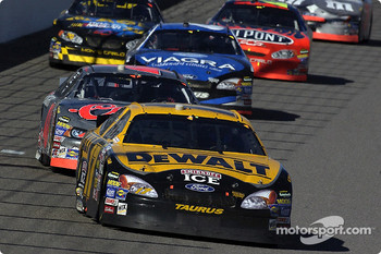 Matt Kenseth leads the field