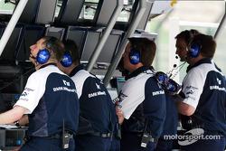 Williams-BMW team members