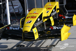 Jordan front wings and nose