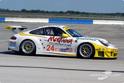 #24 Alex Job Racing Porsche 911 GT3RSR: Romain Dumas, Marc Lieb, Lucas Luhr