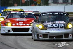 #43 BAM! Porsche 911 GT3RS: Leo Hindery, Peter Baron, Mike Rockenfeller