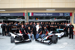 Team Minardi meets Minardi Team Asia Formula BMW drivers