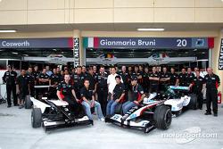 Team Minardi meets Minardi Team Asia Formula BMW drivers