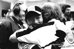 Takuma Sato and David Richards