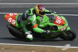 #59 Team ALFS Endurance Racing Kawasaki ZX 10R: John McGuiness, Ia Scott, John Barton