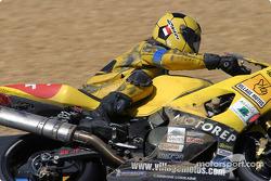 #44 Team 44 Village Motos Nantes Suzuki GSXR: Gérard Jolivet, Michel Amalric, Stéphane Neff