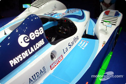 Cockpit of the 2004 Pescarolo-Judd