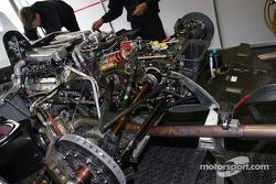 Champion Racing Audi R8 powerplant