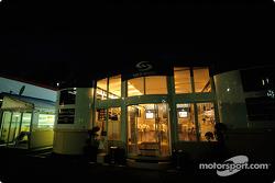 Renault F1 hospitality area