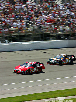 Kasey Kahne and Joe Nemechek