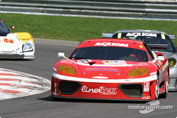 #11 JMB Racing USA Ferrari 360GT: Iradj Alexander, Edi Gay, Maurizio Mediani