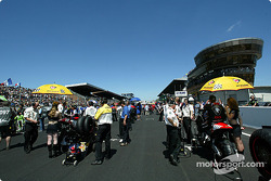 The Le Mans grid