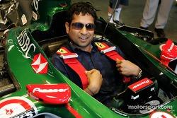 Indian cricketer Sachin Tandulkar