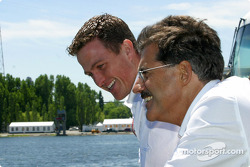 Ralf Schumacher and Dr Mario Theissen
