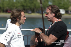 Cristiano da Matta and Emerson Fittipaldi