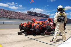 Robby Gordon 1st lap wreck