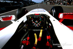 Toyota TF104 cockpit