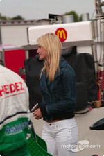Ryan Hunter-Reay's friend Becky