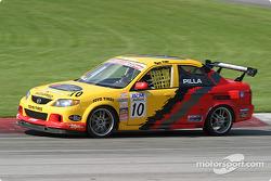Ryan Pilla (#10 Mazda Protegé ES)