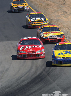 Dale Earnhardt Jr. passes Jim Inglebright