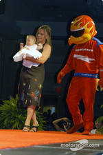 Sarah Fisher, Ella Watt and Firestone Firehawk
